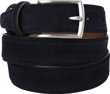 Michaelis Belt Suede Dark Blue