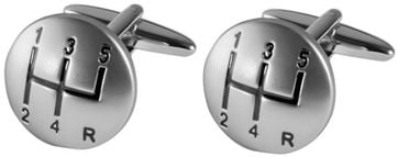 Michaelis Cufflinks Gear Shift