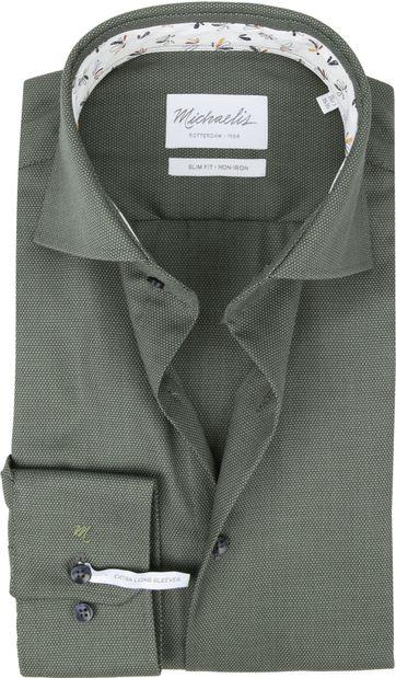 Michaelis Hemd Groen SL7