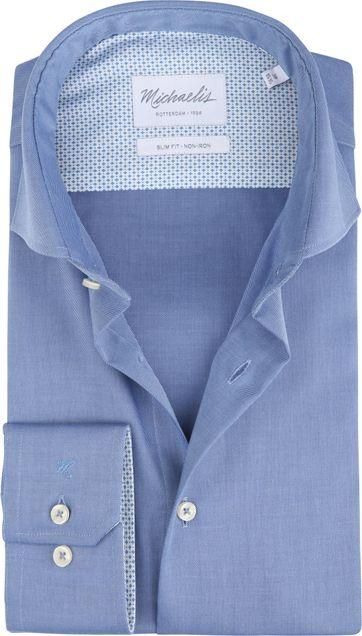 Michaelis Hemd Non-Iron Uni Blau