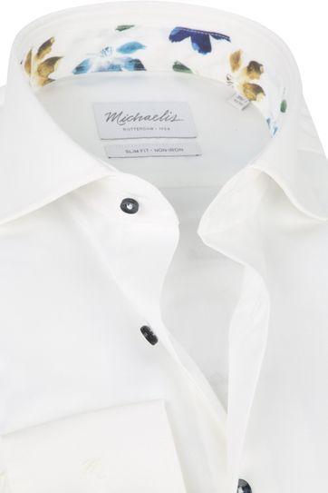 Michaelis Hemd Twill Weiß SL7