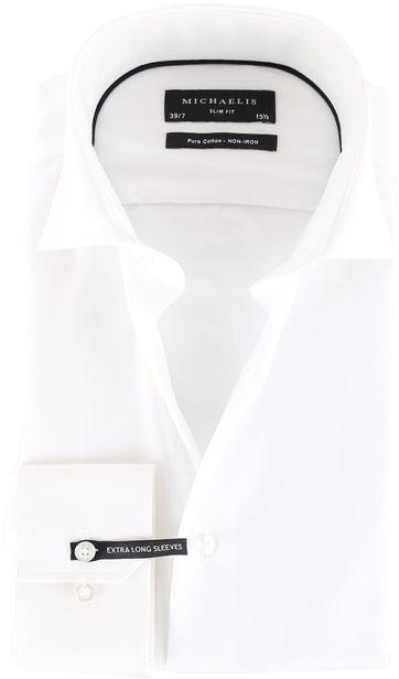 Michaelis Hemd Weiß Extra Langarm SL7