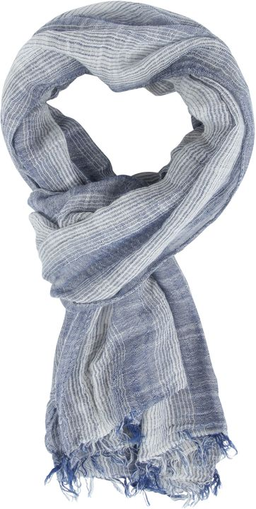 Michaelis Men's Scarf Grey Blue