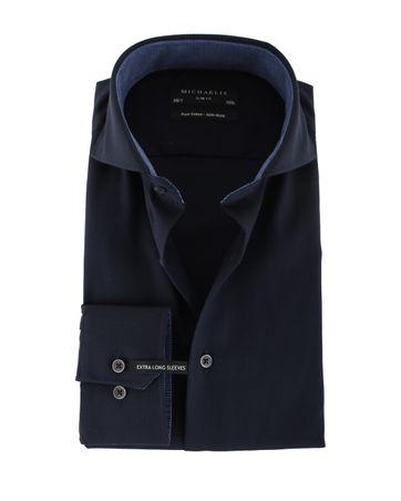Michaelis Overhemd Navy SL7