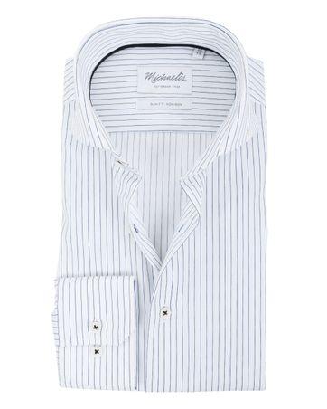 Michaelis Overhemd SF Strijkvrij Streep
