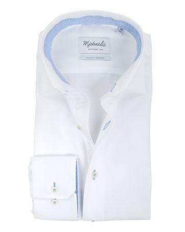 Michaelis Overhemd SF Strijkvrij Wit
