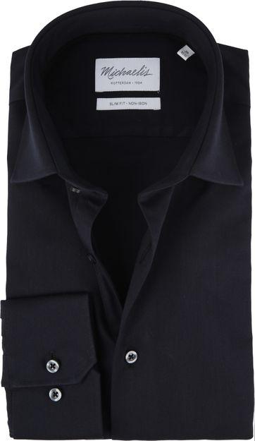 Michaelis Overhemd SF Zwart