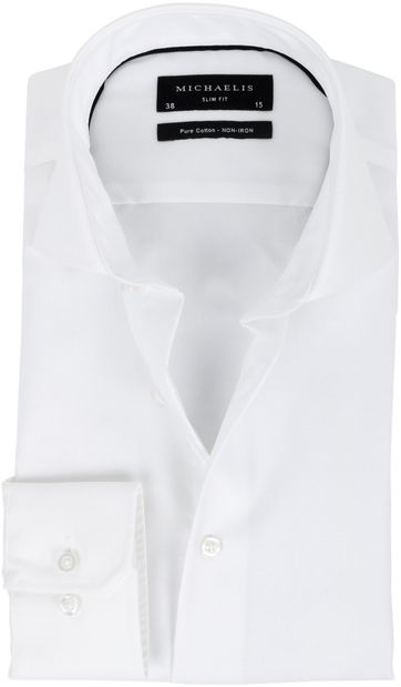 Michaelis Overhemd Slim Fit White