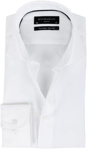 Michaelis Overhemd Slim Fit Wit