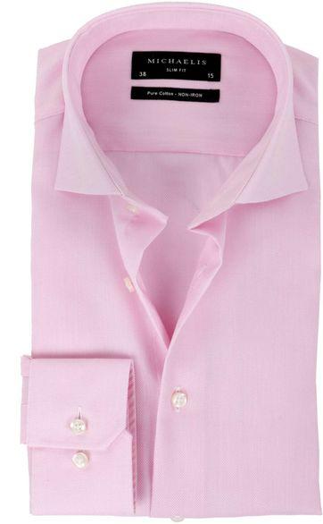 Michaelis Overhemd SlimFit Roze