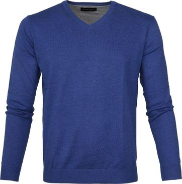 Michaelis Pullover V-Neck Blue