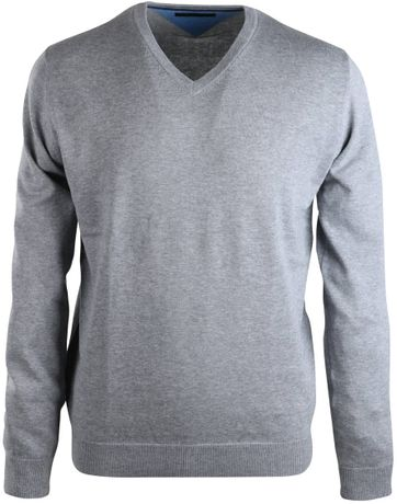 Michaelis Pullover V-Neck Grey