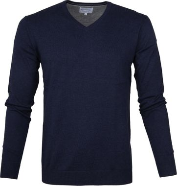 Michaelis Pullover V-Neck Navy