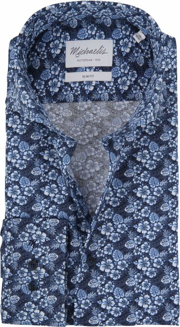 Michaelis Shirt Hawaii Navy