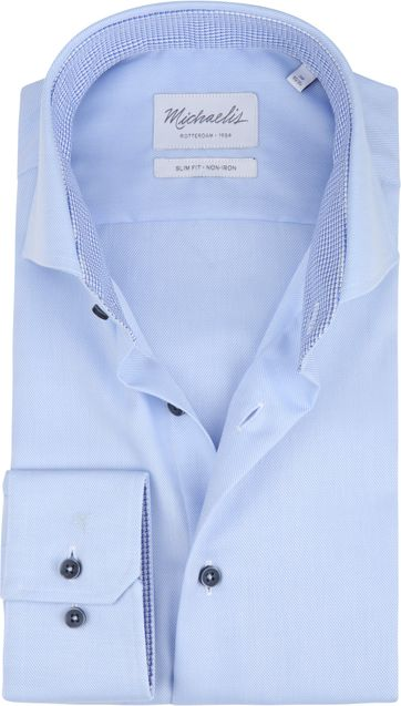 Michaelis Shirt Non-Iron Blue