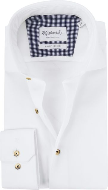 Michaelis Shirt Non-Iron Twill White