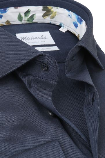 Michaelis Shirt Twill Navy SL7