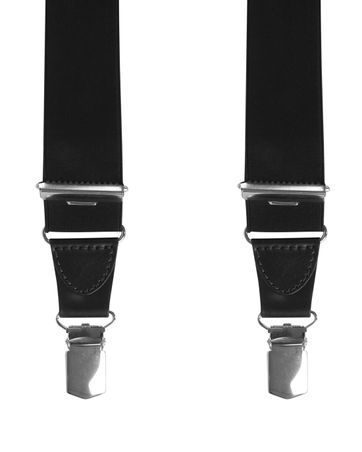 Michaelis Suspenders Black Extra Long