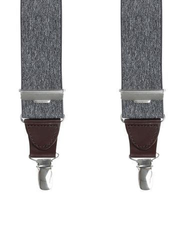 Michaelis Suspenders Melange Grey