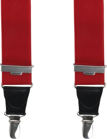 Michaelis Suspenders Red
