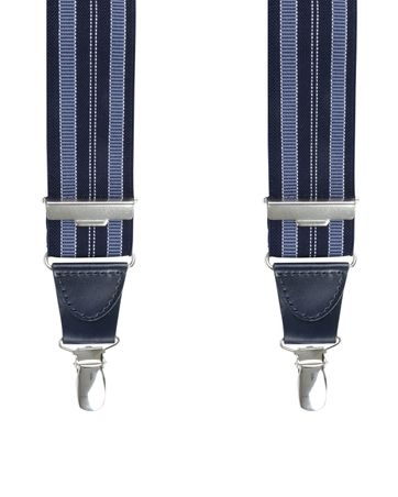 Michaelis Suspenders Stripe Blue