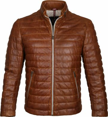Milestone Tereno Leather Jack Cognac