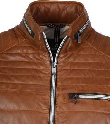 Milestone Terenzio Leather Cognac Jacket