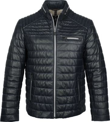 Milestone Terenzio Leather Dunkelblau Jacke