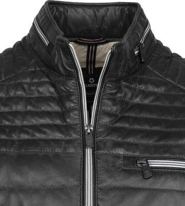 Milestone Terenzio Leather Jacket Black