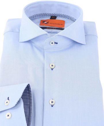Detail Mouwlengte 7 Overhemd Blauw 150-2