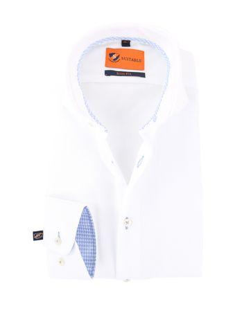 Mouwlengte 7 Overhemd Wit 150-1