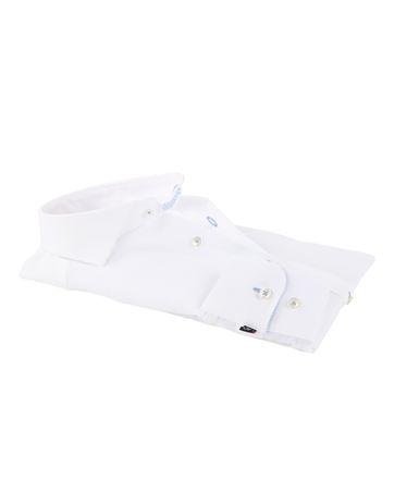 Detail Mouwlengte 7 Overhemd Wit 150-1