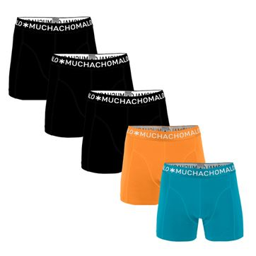 Muchachomalo Boxer Shorts Solid 5-Pack 1010