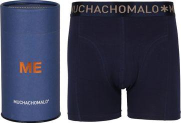 Muchachomalo Boxershort Gift Tube Donkerblauw