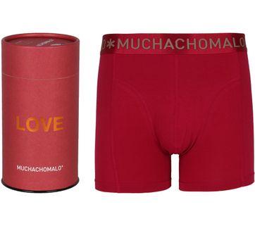 Muchachomalo Boxershort Gift Tube Rot