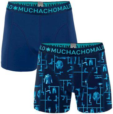 Muchachomalo Boxershorts 2-Pack Blauw