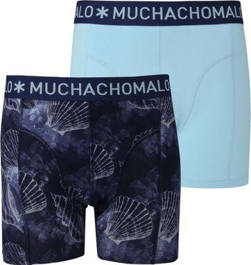 Muchachomalo Boxershorts 2-Pack Coral 6