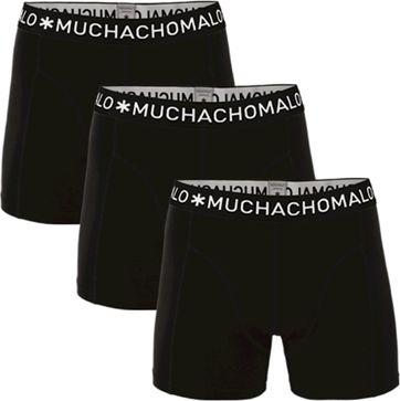 Muchachomalo Boxershorts 3-Pack Black 185