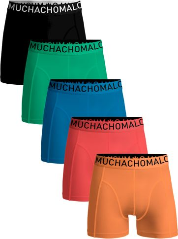 Muchachomalo Boxershorts 5-Pack Light Solid