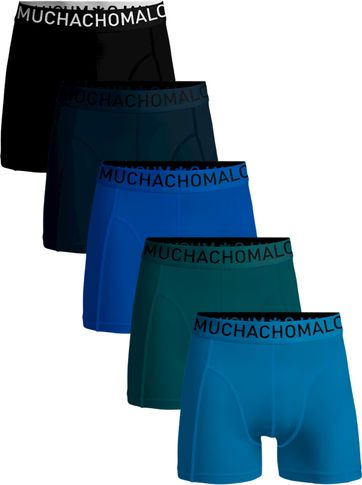 Muchachomalo Boxershorts 5-Pack Solid