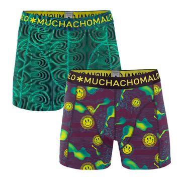 Muchachomalo Boxershorts Acid House 2-Pack 1010