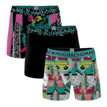 Muchachomalo Boxershorts Boom Bap 3-Pack