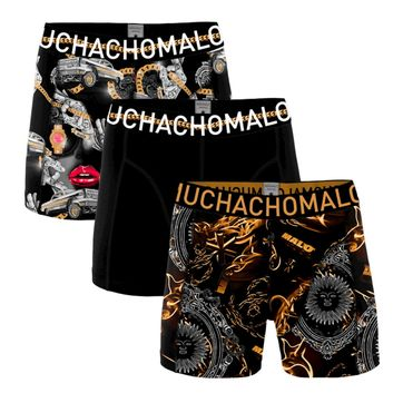 Muchachomalo Boxershorts Rapper 3-Pack 1010