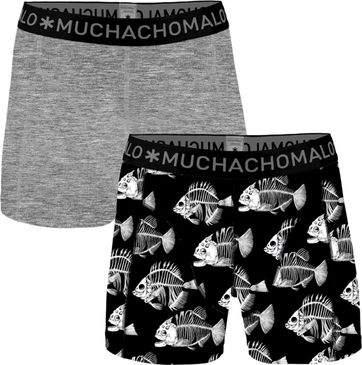 Muchachomalo Shorts 2er-Pack Fish 7