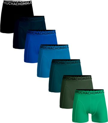 Muchachomalo Shorts 7er-Pack Solid