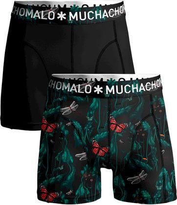 Muchachomalo Shorts Schmetterlinge 2er-Pack 98