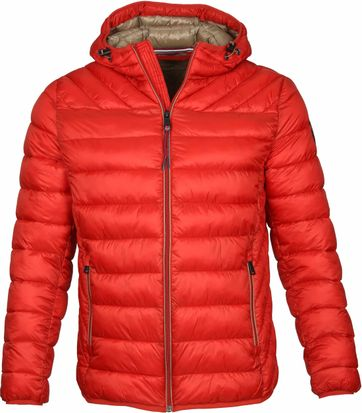 Napapijri Aerons Jacke Orange Rot