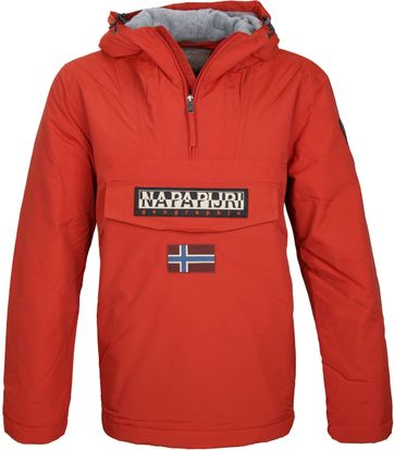 Napapijri Anorak Rainforest Dark Orange