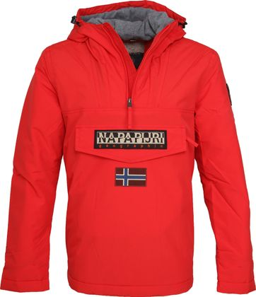 Napapijri Anorak Rainforest High Risk Red