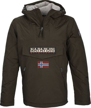 Napapijri Anorak Rainforest Pocket Darkgreen